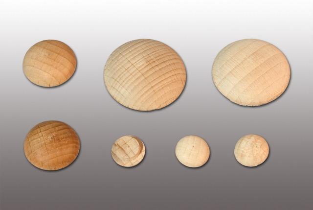 Заглушка декоративная под саморезы (в ассортименте) (упаковка-1000 шт.)