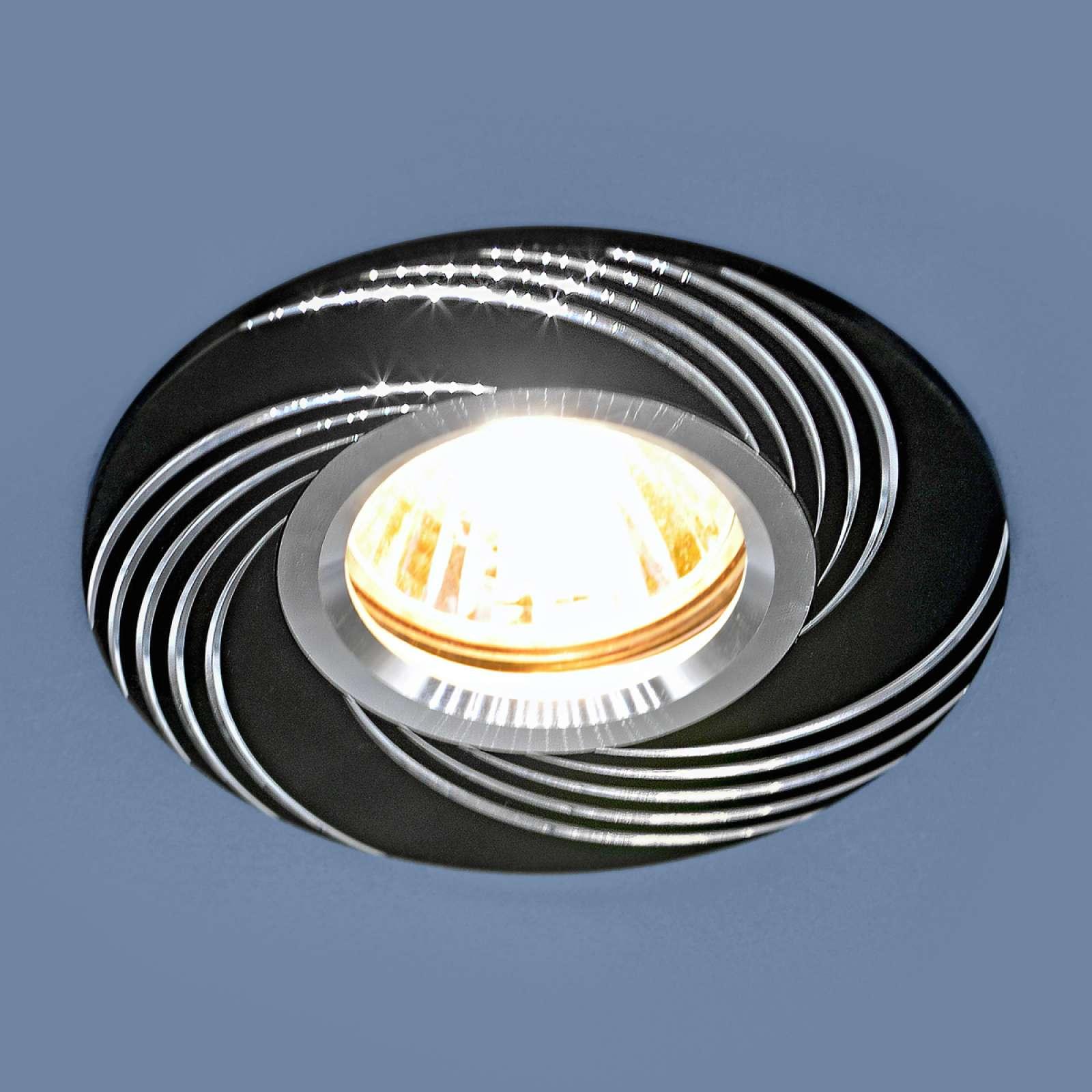 Светильник точечный - 5156 ВК черный