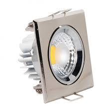 Светильник светод.точ.HL678L3W6500K,мат/хром