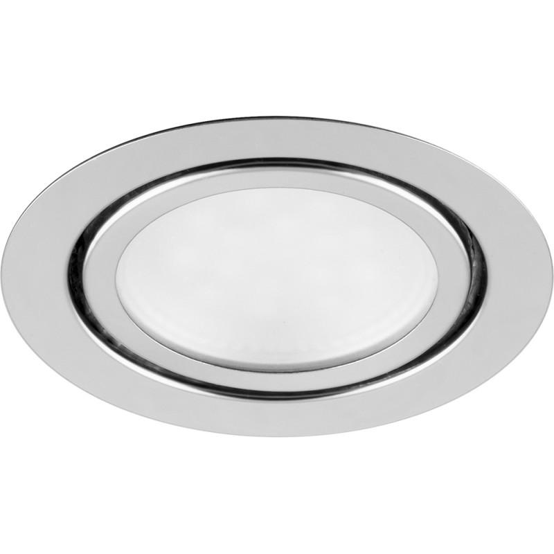 Светильник точечный Ферон 3Вт/4000 светодиодный хром