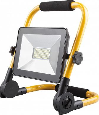Прожектор светодиодный Ферон переносной. 30Вт,LL-512,6400К,
