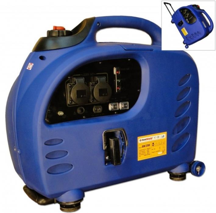 Электрогенератор бензиновый Foxweld GIN-2200 (инвертор 2-2,2 кВт)