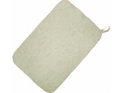 Коврик для бани серый без вышивки