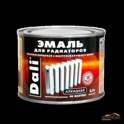 Эмаль для радиаторов DALI  алкидная белая 0,5кг