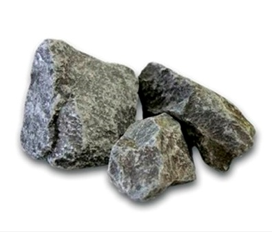Камни для бани ПОРФИРИТ колотый 20кг