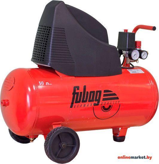 Компрессор FUBAG  - OL 231/50 CM2 фу - 29838377,Мощность1.5 кВт / 2 л.с.Объем ресивера 24 л,Макс. дав.8 бар