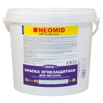 Краска Огнезащитная д/металлических конструкций 6 кг NEOMID
