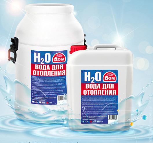Вода для систем отопления 50л