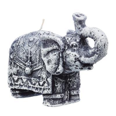 Свеча декор, Слон 12,5*5,4 см парафин