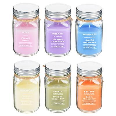 Свеча ароматическая в стекле 8*13,5