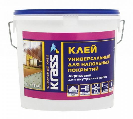 Клей для напольных покрытий универсальный KRASS 7кг
