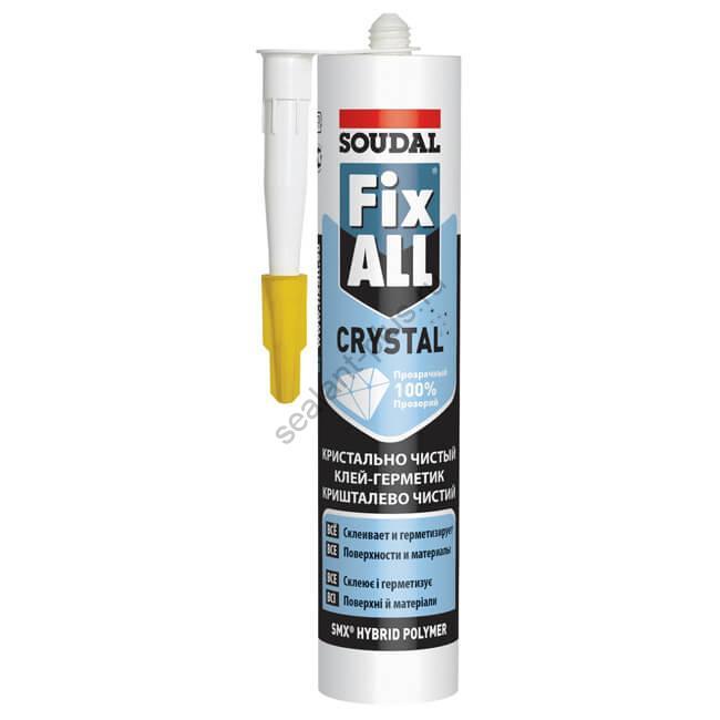 Клей-герметик Соудал Fix All прозрачный Кристал 290мл
