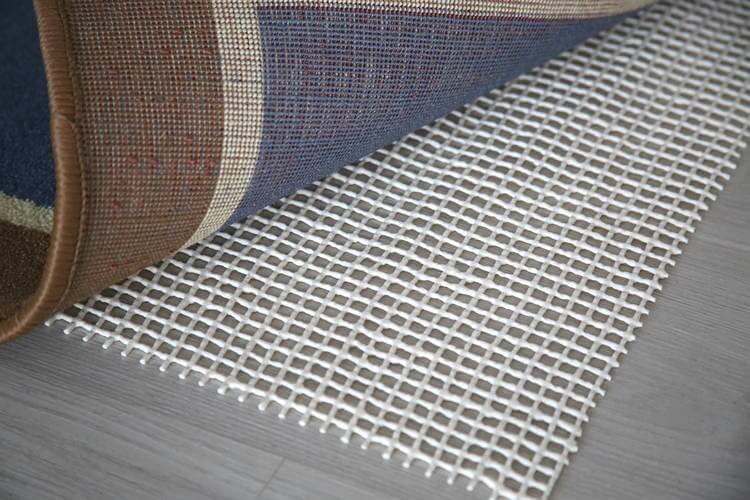 Подложка-сетка под ковры антискользящая 1м белая