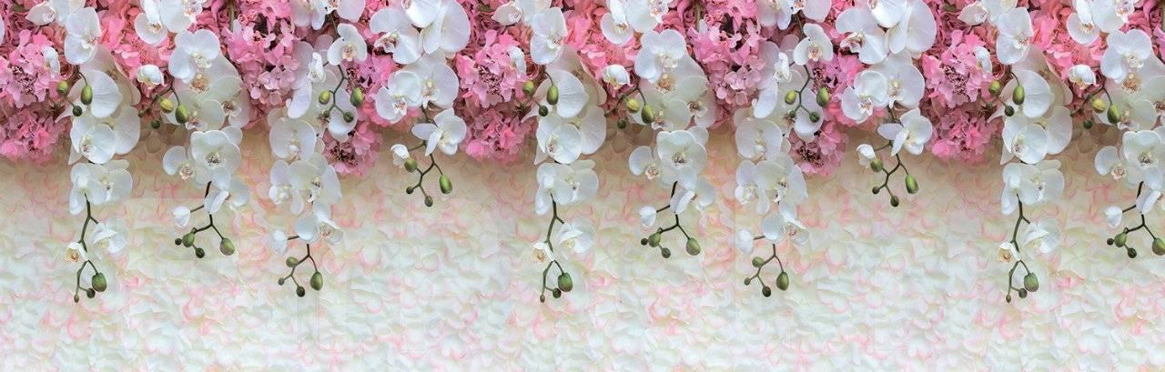 ПВХ фартук Цветущие орхидеи 3000х600
