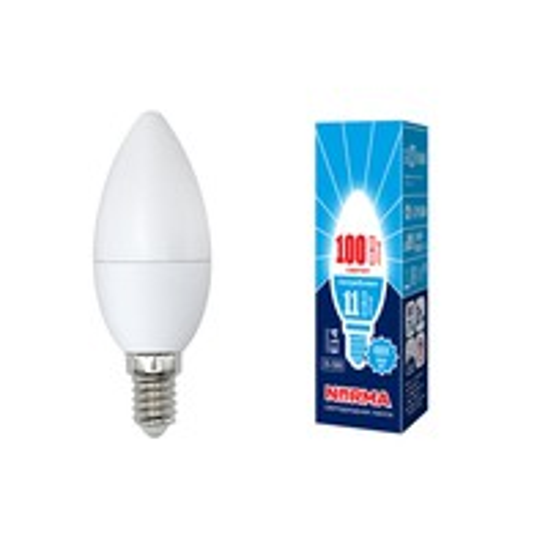 Лампа светодиодная C37-11W/NW/E14/FR/NR