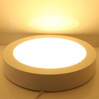 Светильник светодиодный панель 24Вт Сосна круг
