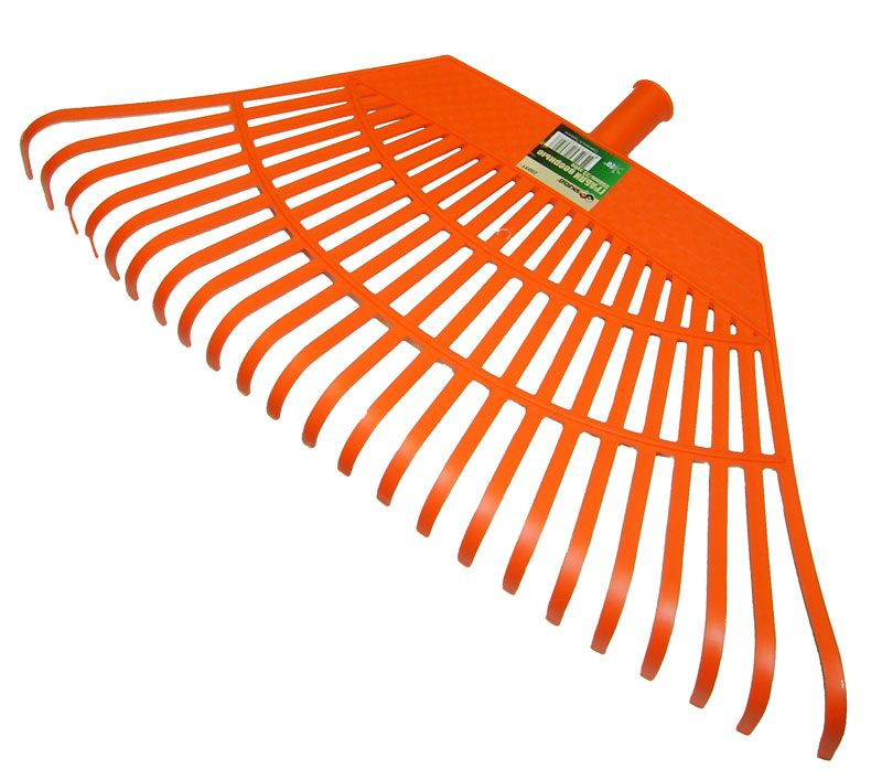 Грабли веерные пластиковые 550мм 23зуб. 28051