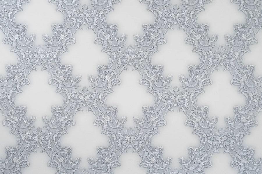168242-20 ОБОИ 1,06*10 м флиз горяч тисн Шамбор бел