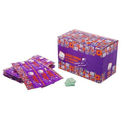 Пластины от комаров Help дисплей бокс 80501