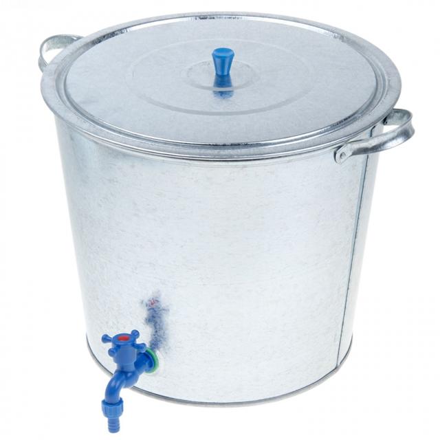 Бак оцинков.для воды с краном 32л