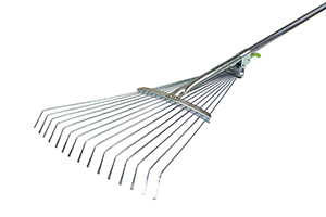 Грабли веерные регулир.с метал.ручкой 120см  004-0008