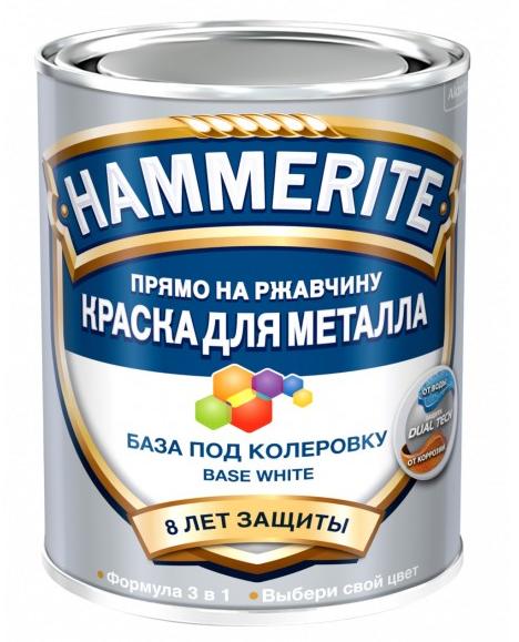 Хаммерайт краска 0,65 л бесцветная гладкая