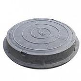 Люк полимерный 110 мм х ф-760 мм (серый), масса 38 кг, нагрузка 5-7 т