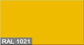 Эмаль по металлу Goodhim RAL 1021 желтый глянец 2,8кг
