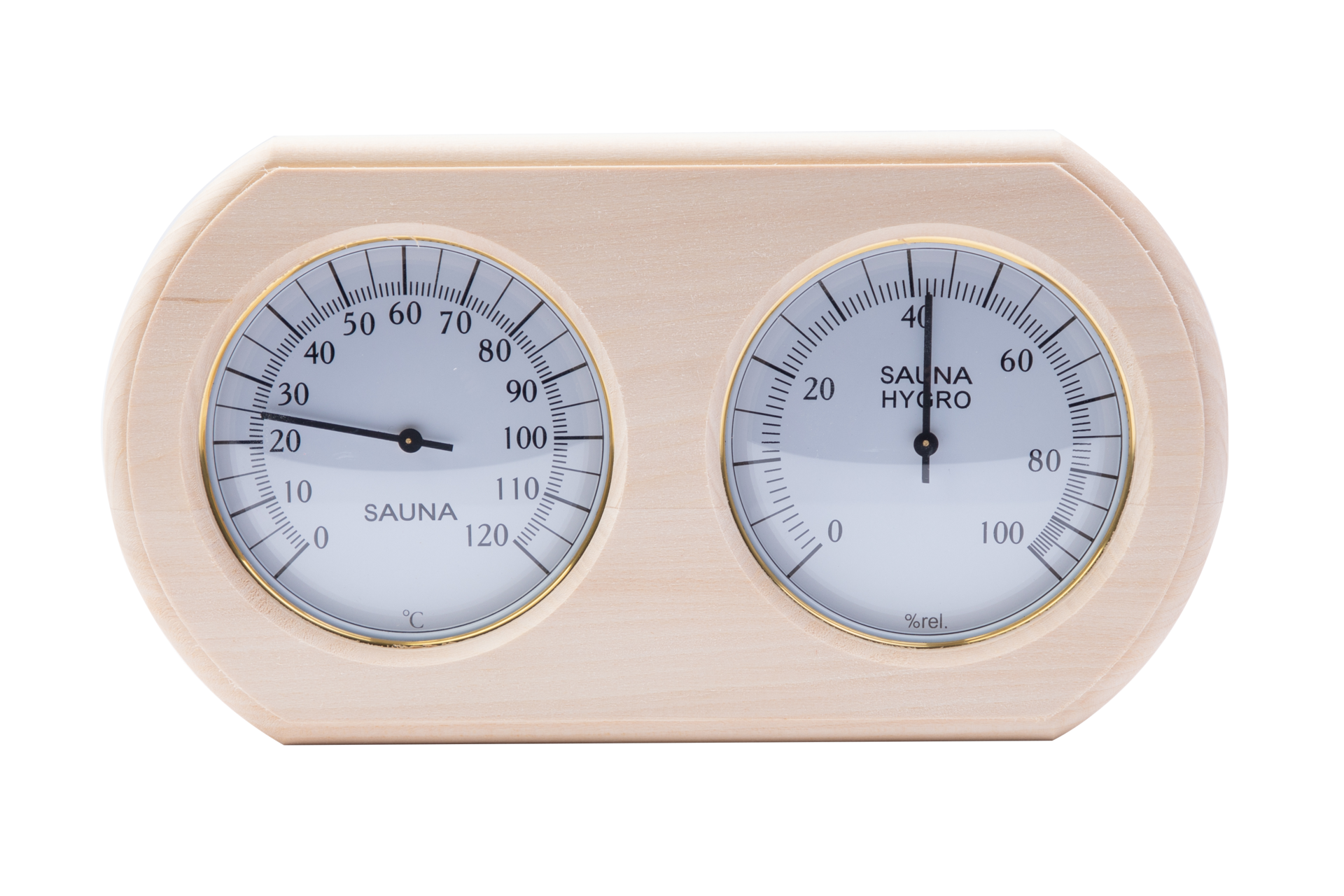 Термогигрометр овал ТН- 20Л ( Липа )