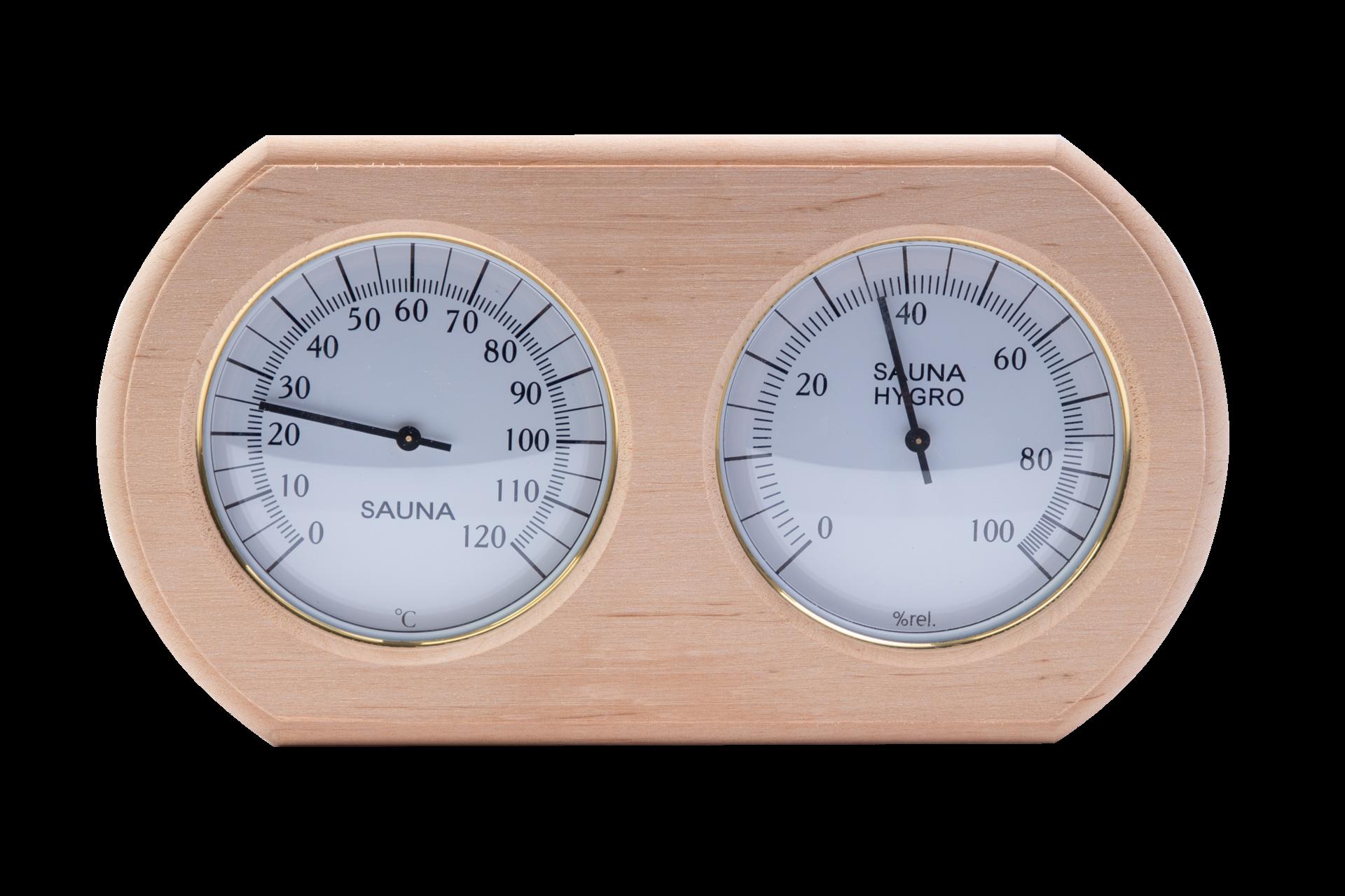Термогигрометр овал ТН- 20А (Ольха)