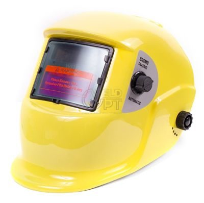 Маска сварщика COSMO CLASSIC (желтая)