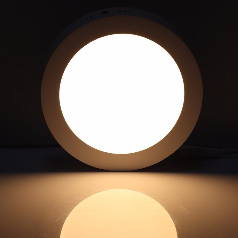 Светильник светодиодный панель 24Вт Дуб круг