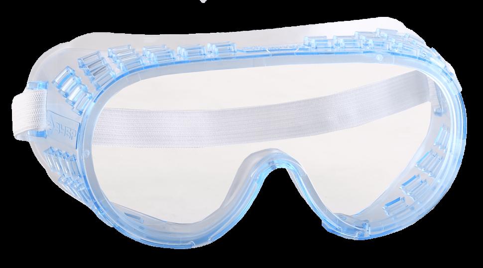 Очки защитные закрытого типа  ЗУБР профи с непрямой вентиляцией