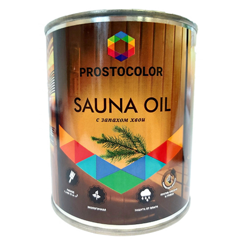 Масло для бань и саун Простоколор SAUNA OIL 0,75л