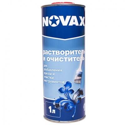 Растворитель NOVAX 1л д/эмали по металлу