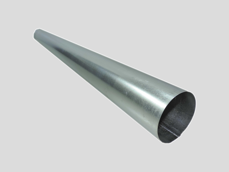 Труба-стояк для дымохода ф136 мм оцинк.