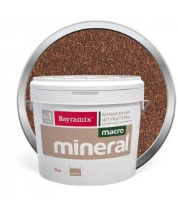 Декоративная штукатурка Bayramix мраморная Макро Минерал 15кг1012