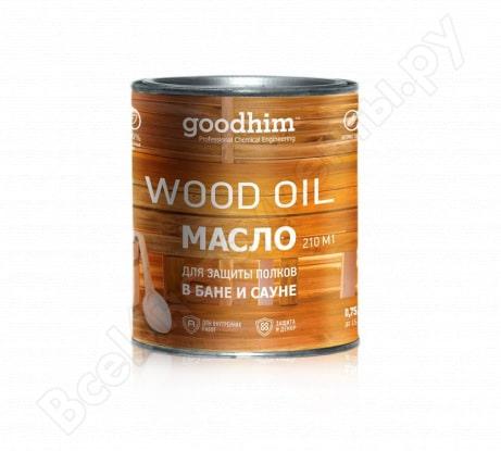 Масло для бань и саун ГудХим 210 0,75л (запах хвои)