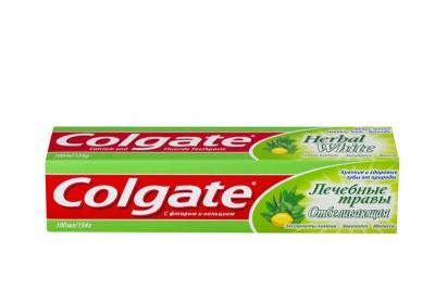 Зубная паста Колгейт 100 мл Лечебные травы Отбеливающая