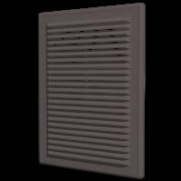 Решетка разъем. с моск. сеткой 2525Р коричневая