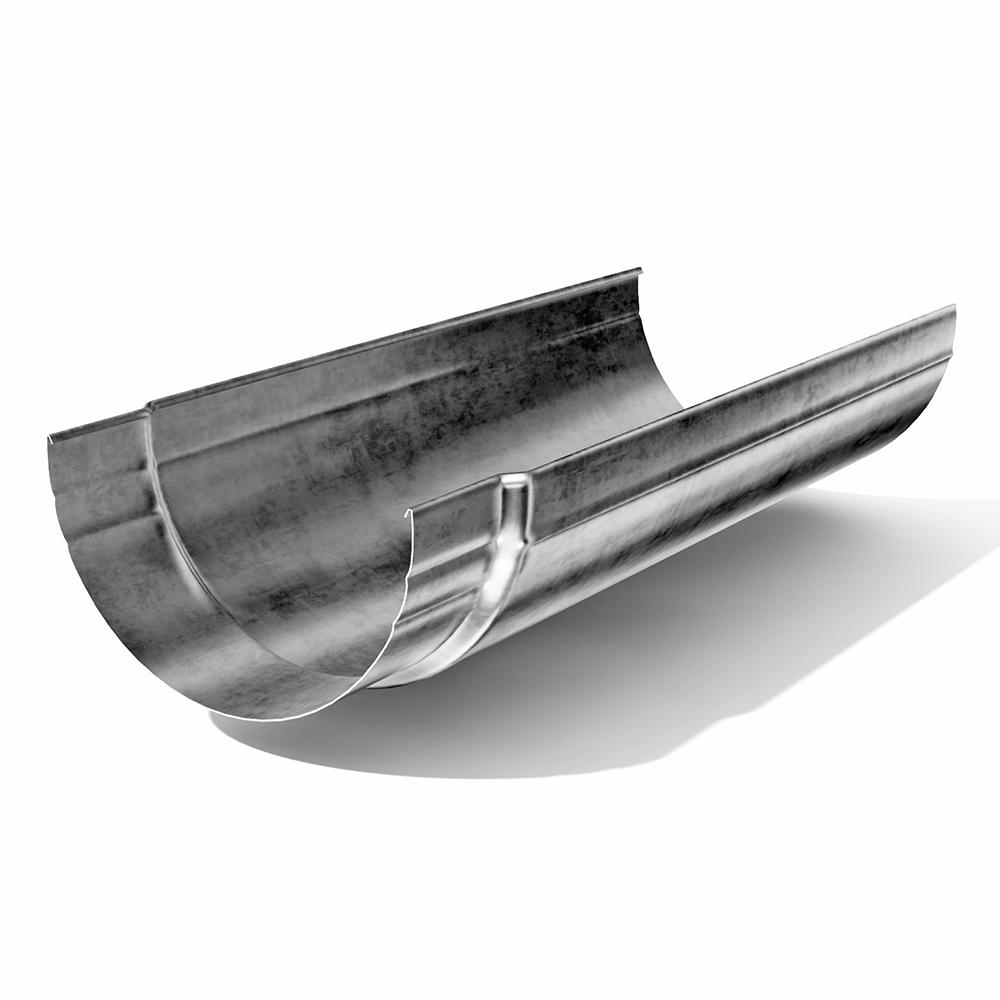 Желоб водосточный ф125х3000 цинк