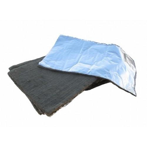 Базальтовый лист с фольгой 1000х600х10 мм