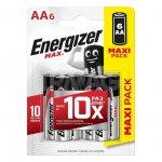 Батарейка щелочные*12 ENR MAX E91/AA 6шт
