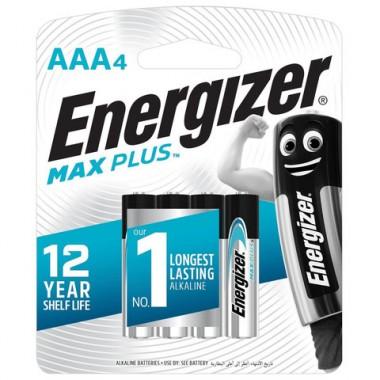 Батарейка щелочные*12 ENR MAX Plus E92/AAA 4шт