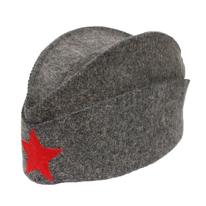 """Шляпа д/сауны""""Пилотка""""войлок"""