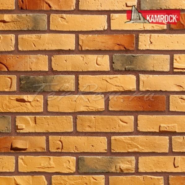 Декор камень Kamrock Клинкерный кирпич 34180/39180