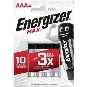 Батарейка щелочные*12 ENR MAX E92/AAА 4шт