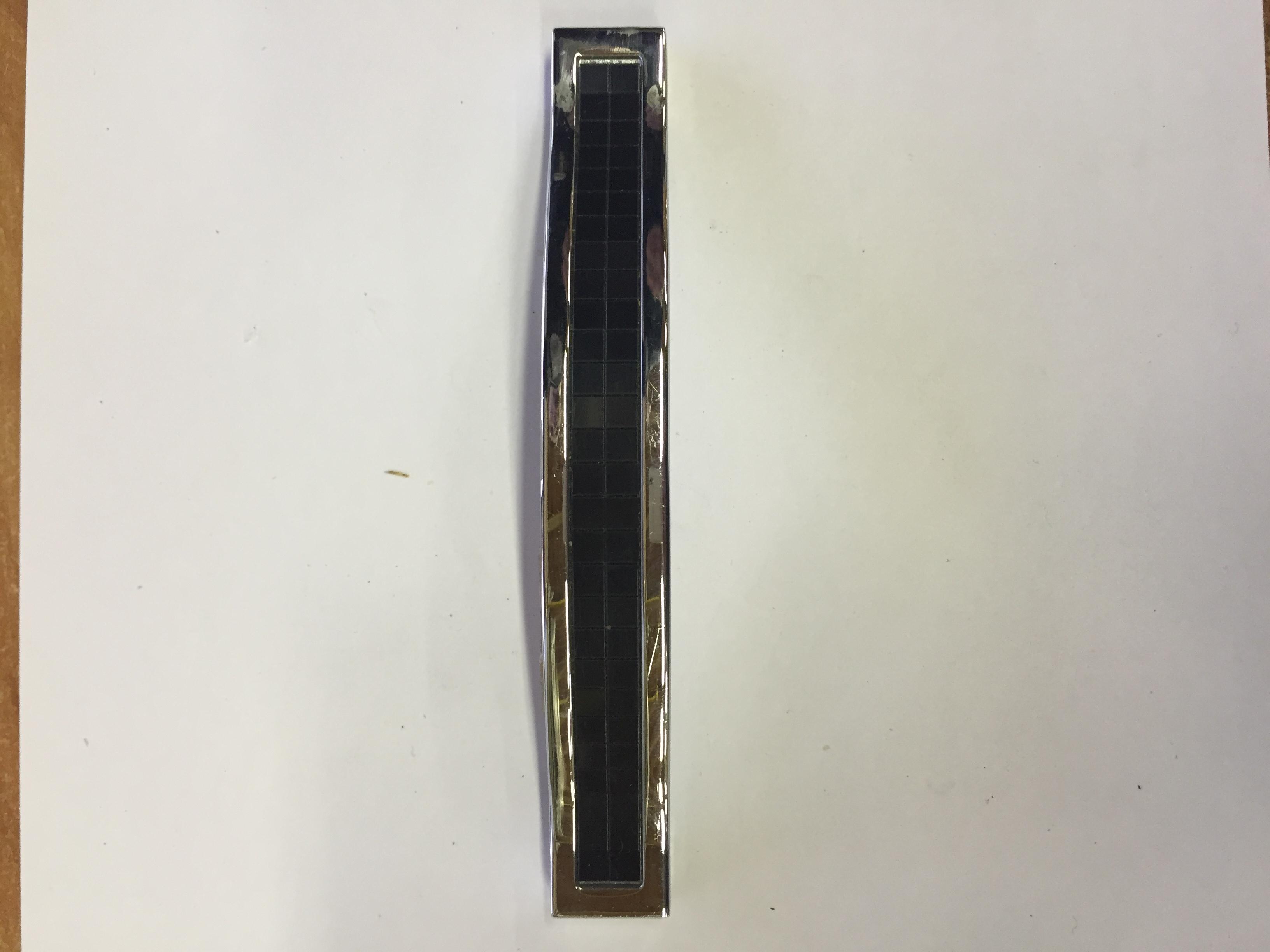 Ручка мебельная  ВТ128-02-04(хром -черный)