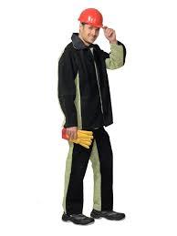 Костюм Сварщика куртка+брюки со спилком брезент.