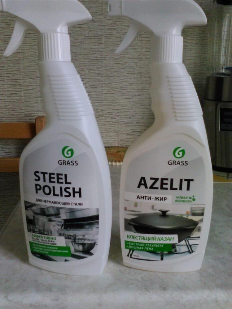 """Жироудалитель спрей""""Grass""""AZELIT 600мл"""